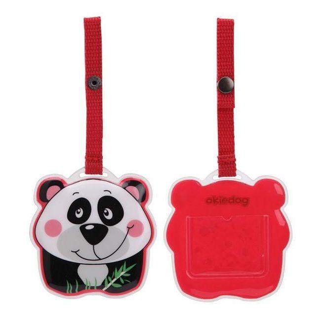 Okiedog Wildpack Luggage Tag - Panda