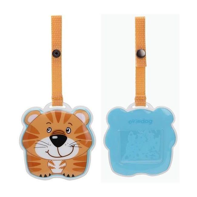 Okiedog Wildpack Luggage Tag - Tiger
