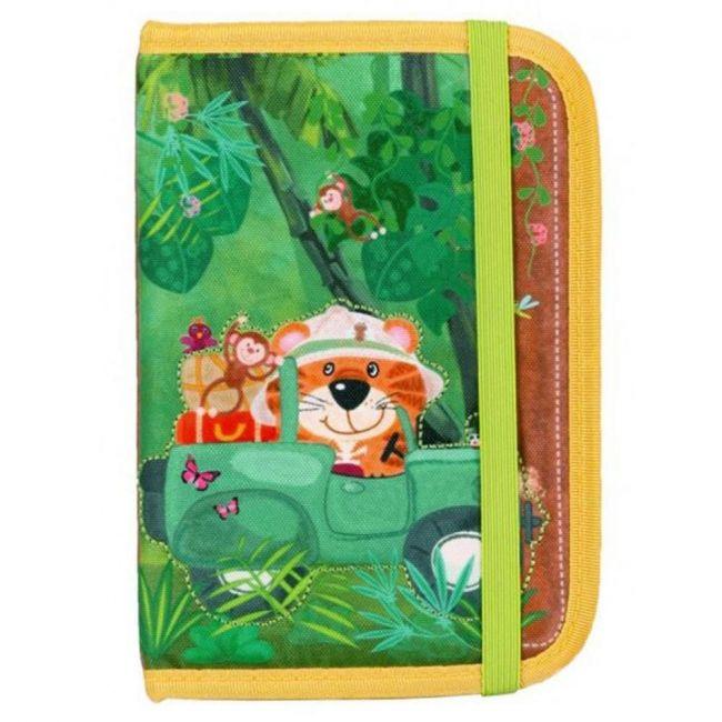 Okiedog Wildpack Passport Holder - Tiger