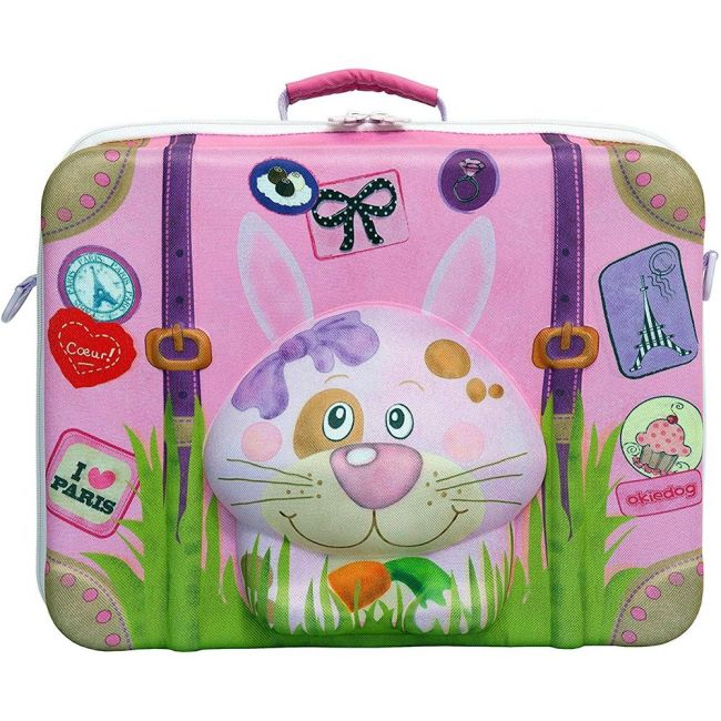 Okiedog Wildpack Suitcase - Rabbit