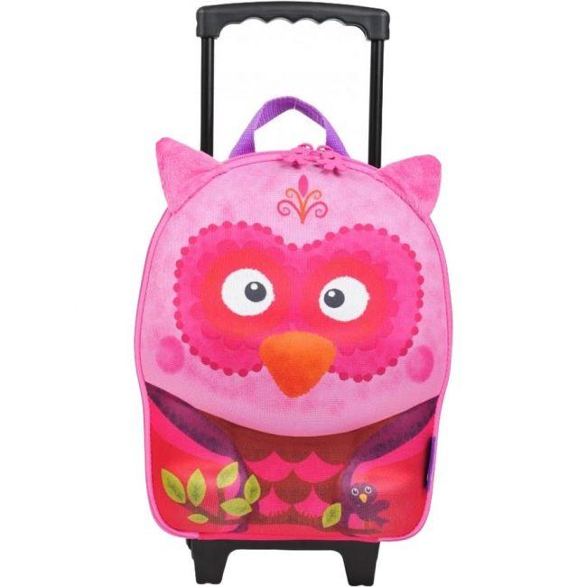 Okiedog Wildpack School Trolley Bag - Owl
