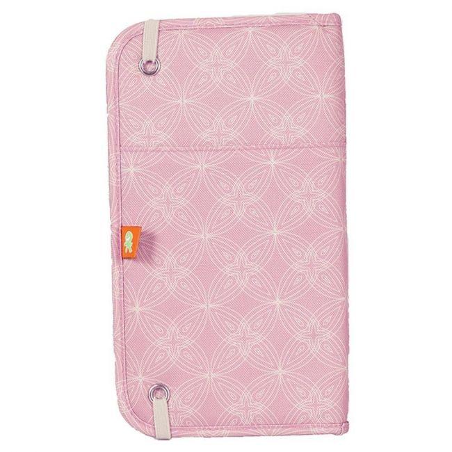 Okiedog Zugvogel Document and Passport Holder - Biscotti Pink
