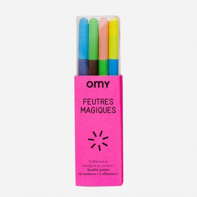 OMY Magic Felt Pens - Box of 9
