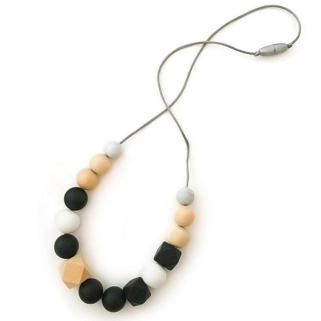 One.Chew.Three Addison Necklace - Mono