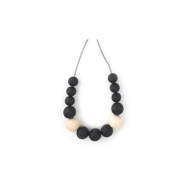 One.Chew.Three Evie Necklace - Black