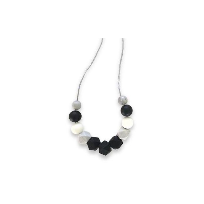 One.Chew.Three Ruby Necklace - Mono