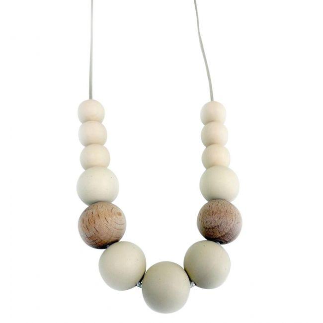 One.Chew.Three Evie Necklace - Cream