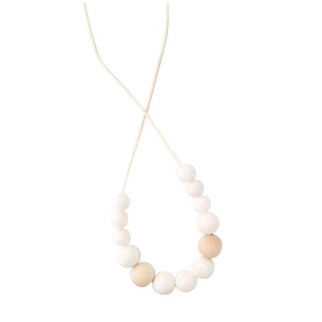 One.Chew.Three Evie Necklace - White