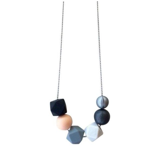 One.Chew.Three Lexi Necklace - Mono