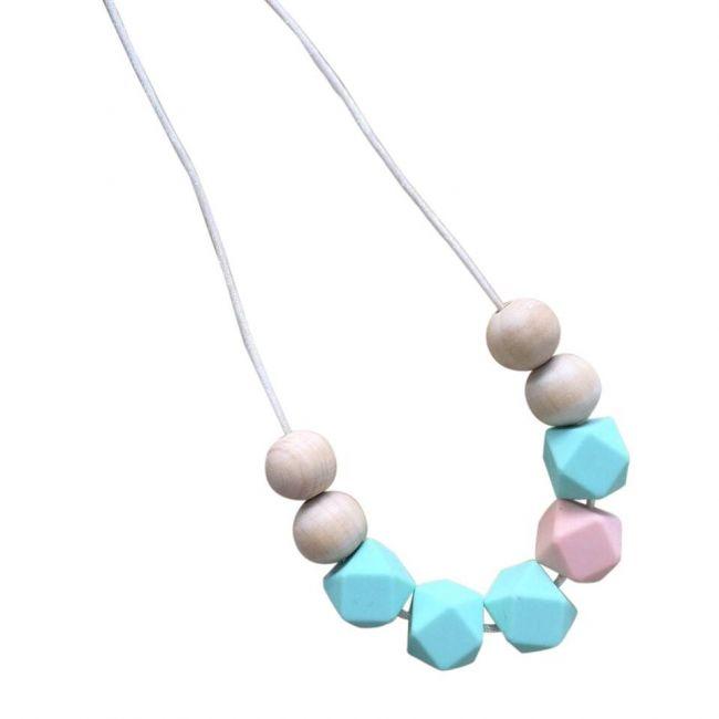 One.Chew.Three Stella Necklace - Mint