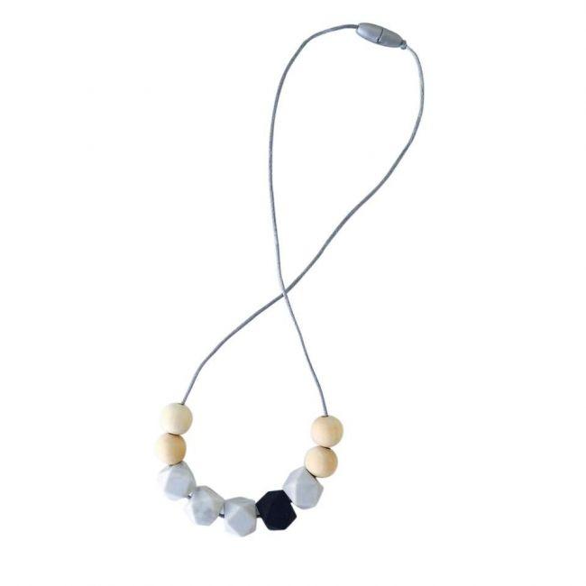 One.Chew.Three Stella Necklace - Mono