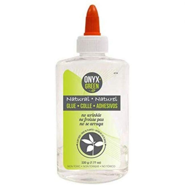 Onyx and Green Transparent, Plant Based Liquid Glue - 7.7oz