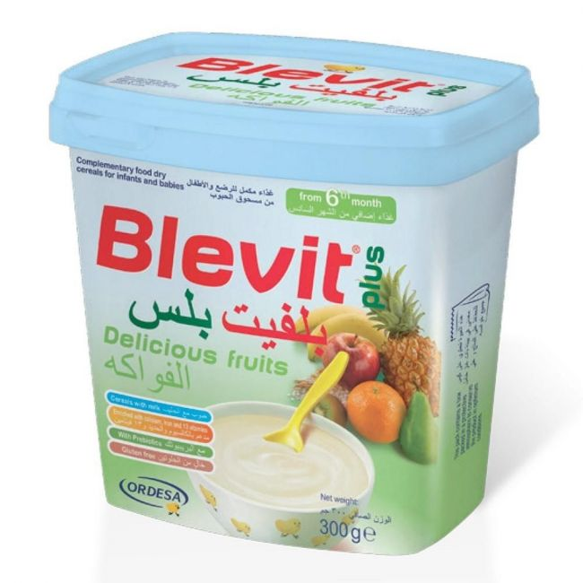 Blevit Plus Cereals Delicious Fruits