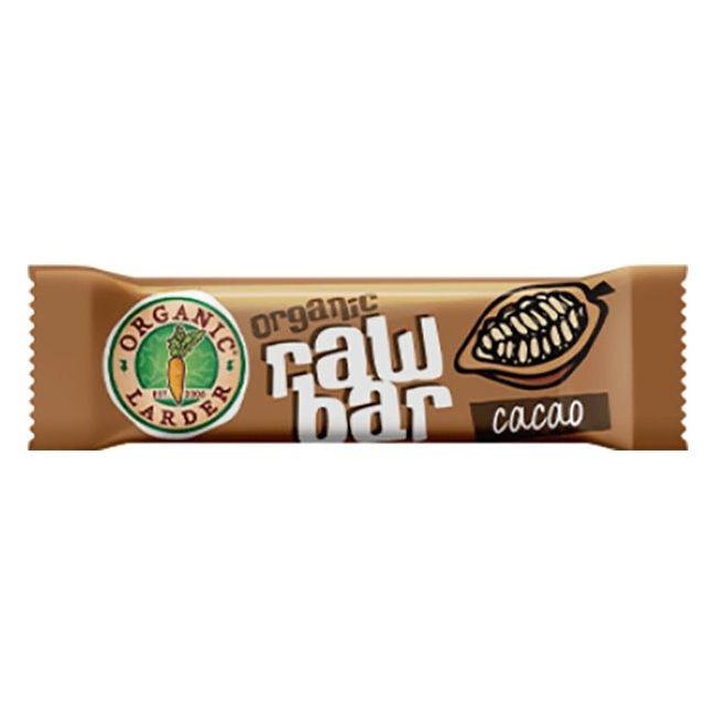 Organic Larder Raw Bar Cocoa - 35g