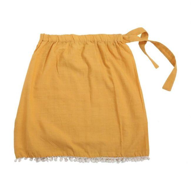 Mimmas World Organic Vinca Skirt - Mustard