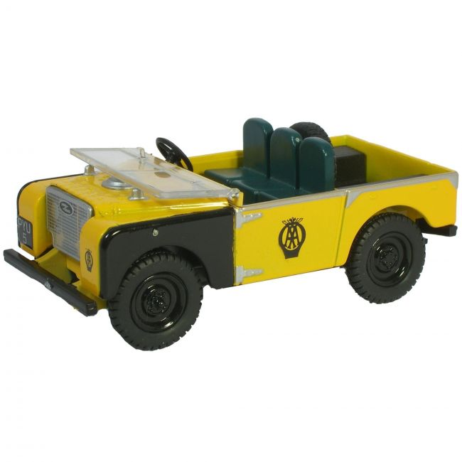 Oxford Diecast AA Land Rover 80 Inch Toy Car