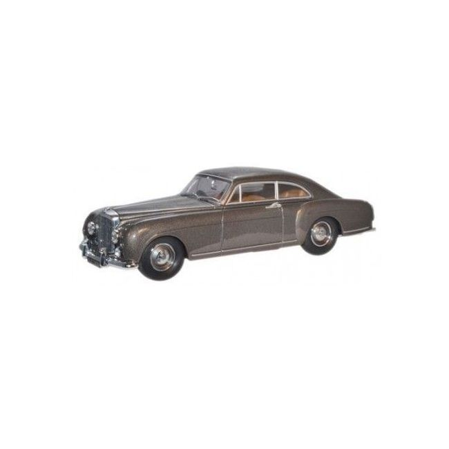 Oxford Diecast Model - Gunmetal Bentley Continental Toy Car