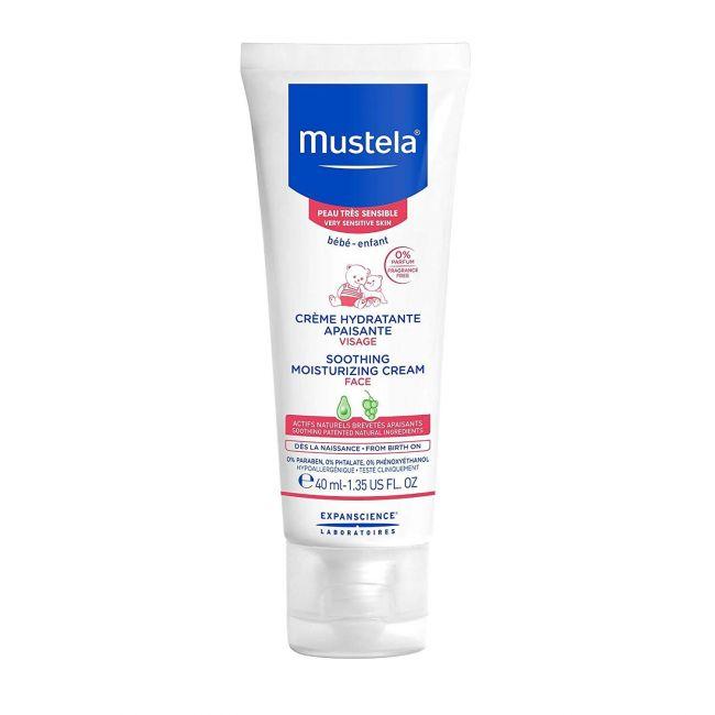 Mustela - Soothing Moisturizing Face Cream