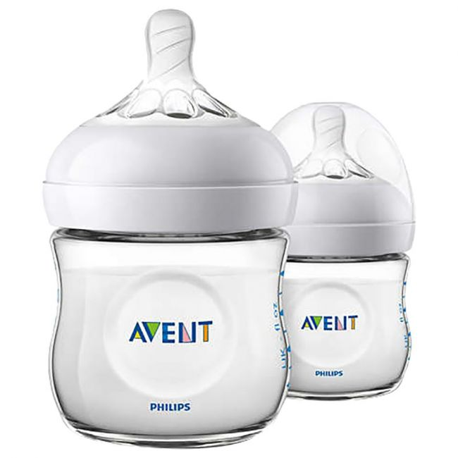 Philips Avent Natural 2.0 Bottle 125ml X2