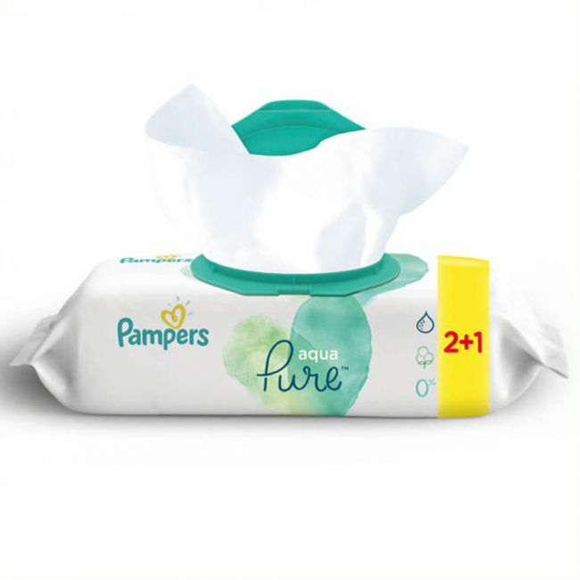 Pampers - Pure Wipes - 144 Count