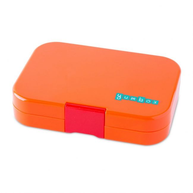 Yumbox Papaya 4 compartments Bento Lunch box