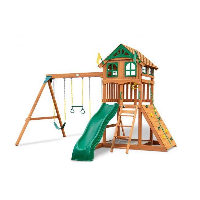 Playnation - Passage Wooden Roof Swing Set