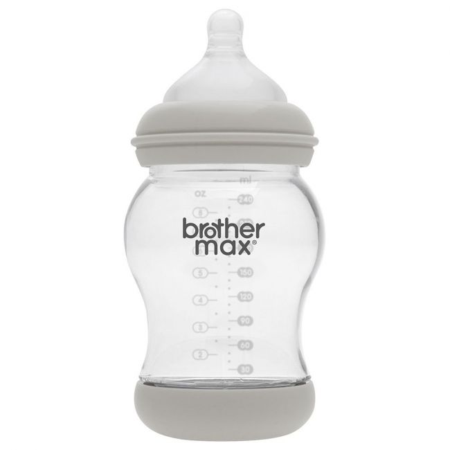Brother Max PP Green Anti-Colic M Teat Feeding Bottle - 240ml