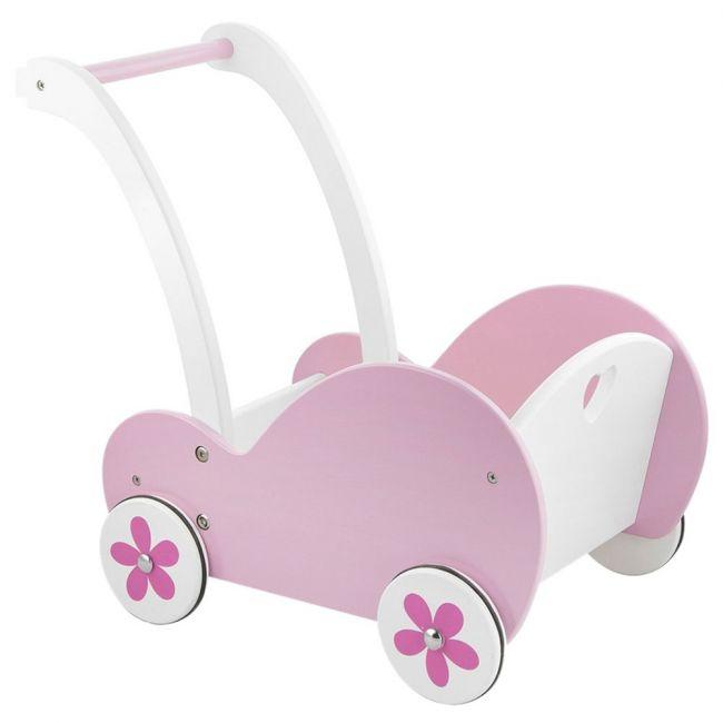Viga Doll Pram - Pink
