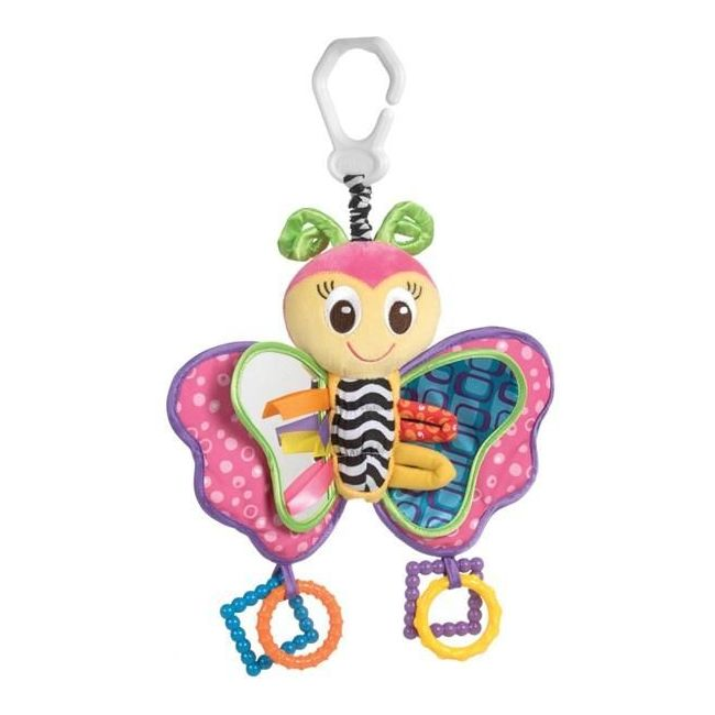 Playgro My First 10' Butterfly, Stroller/Carseat Toy