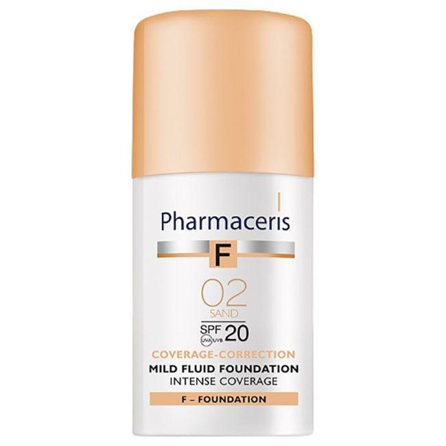 Pharmaceris - Mild Fluid Foundation SPF20 02 Sand - 30ml