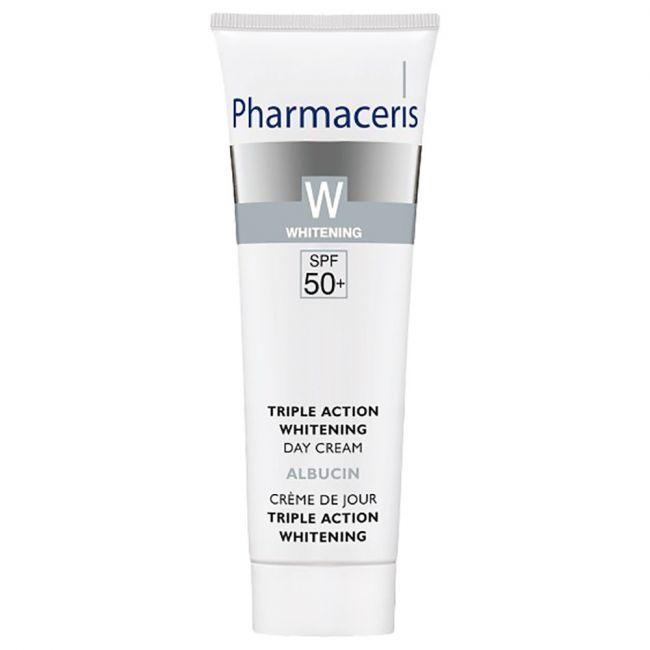 Pharmaceris - Triple Action Whitening Day Cream SPF 50+ 30ml
