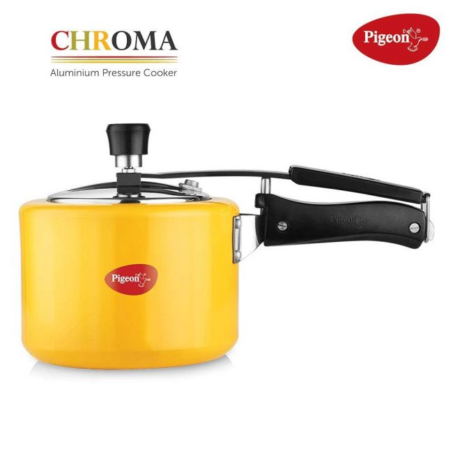 Pigeon - Chroma Induction Base Pressure Cooker 3 L Yellow