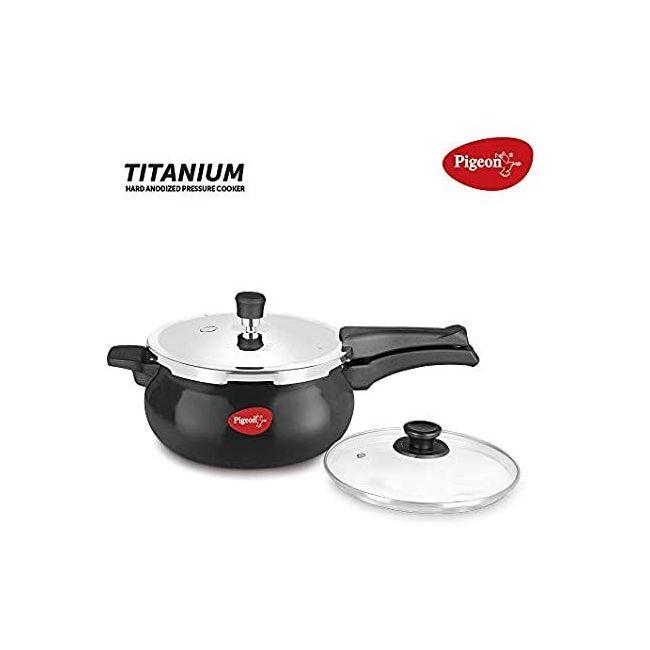 Pigeon - Pressure Cooker Black 5 Liters 12640