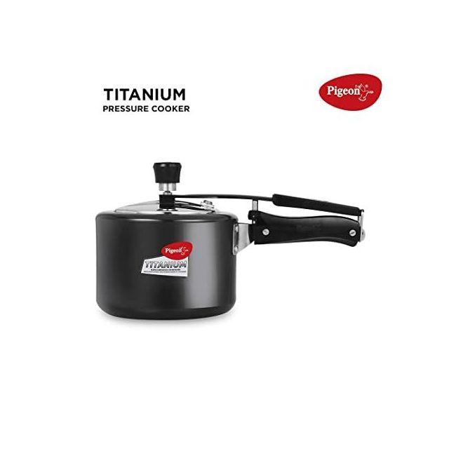 Pigeon - Pressure Cooker With Inner Lid Black 5 Liters 12422