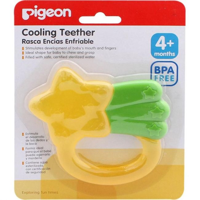 Pigeon Cooling Teether -Star