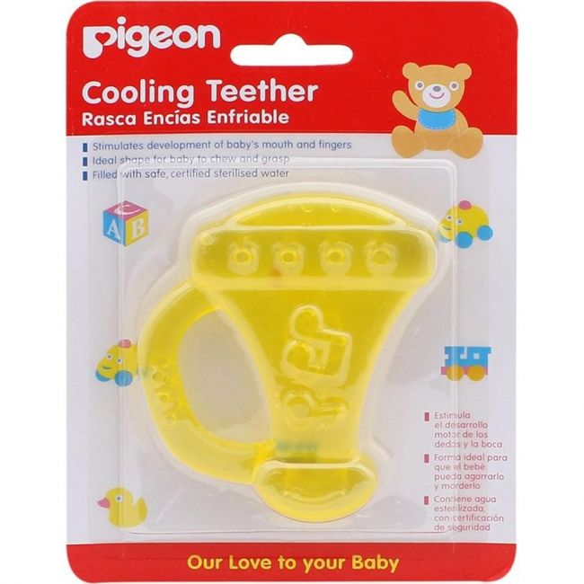 Pigeon Cooling Teether -Trumpet