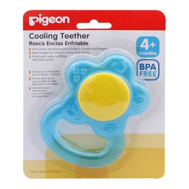 Pigeon Cooling Teether -Flower