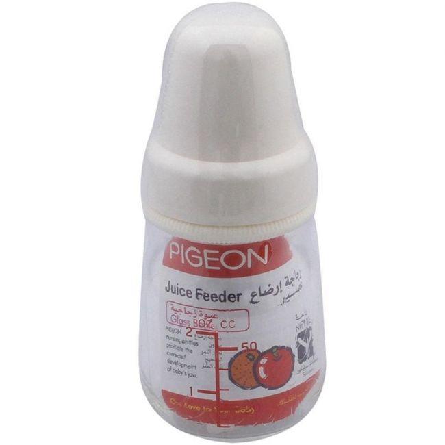 Pigeon Glass Juice Feeder Bottle - 50ml