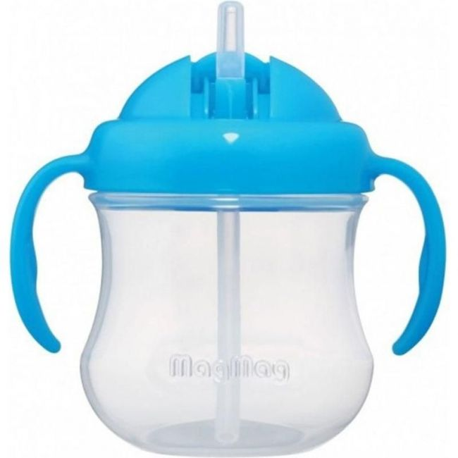 Pigeon Sky Blue MagMag Straw Cup