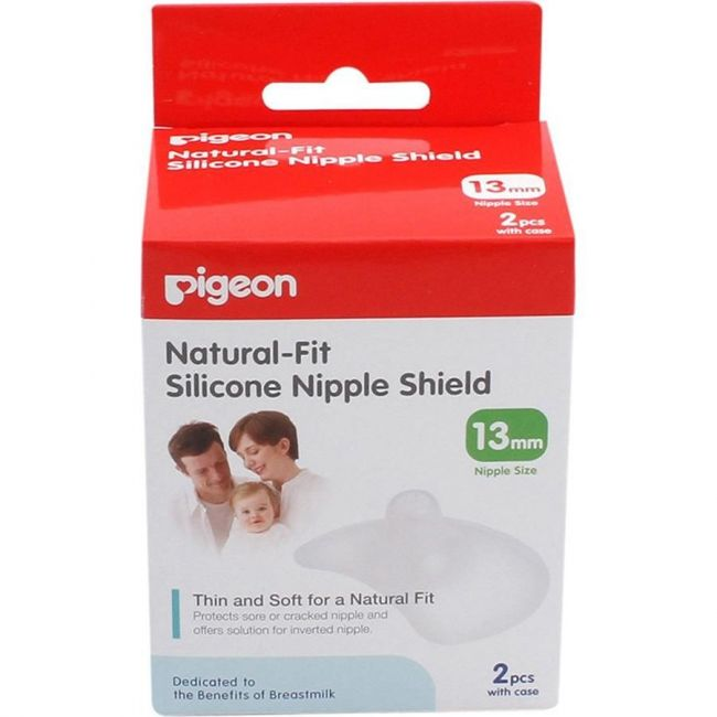 Pigeon - Natural Fit Silicon Nipple Shield - 13mm