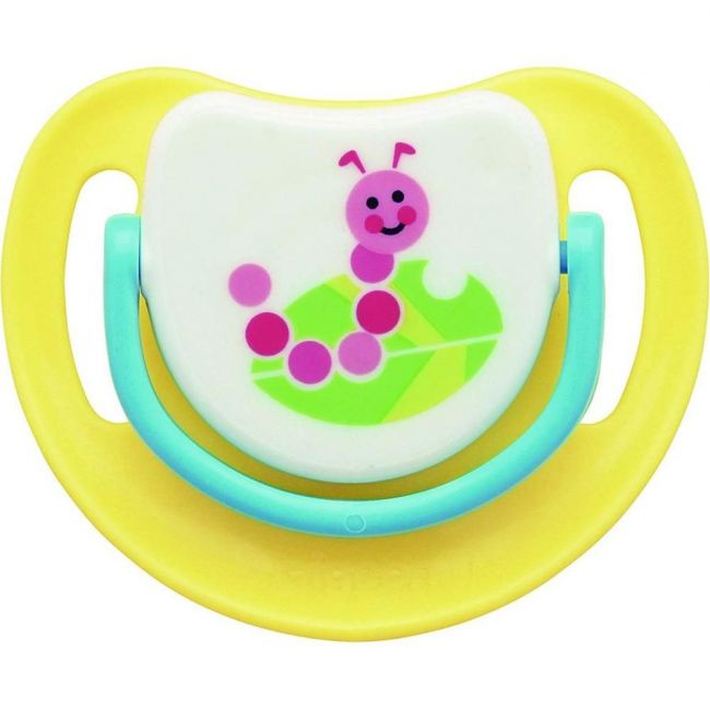 Pigeon Silicon Pacifier Step-2 Caterpiller