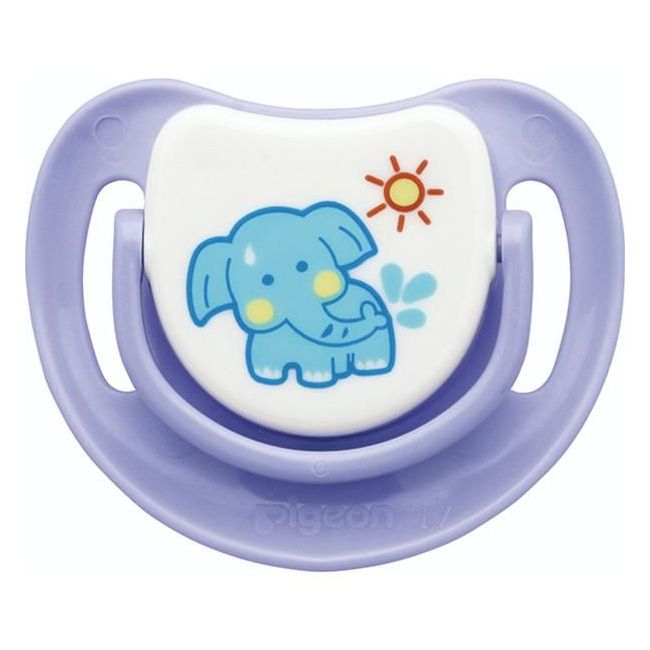 Pigeon Silicon Pacifier Step 2 Elephant