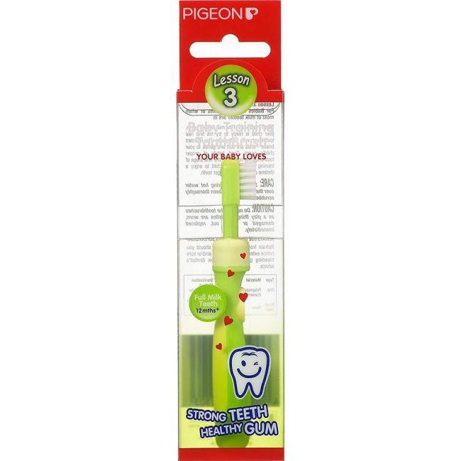 Pigeon Training Toothbrush L-3 Green
