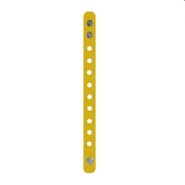 Pikkaboo - Rubber Wristband - Yellow