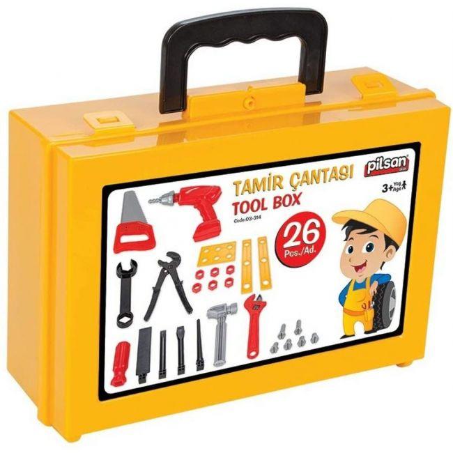 Pilsan - Tool Set With Bag 26 Pcs