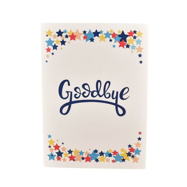 Pinak - A4 Size Goodbye Card