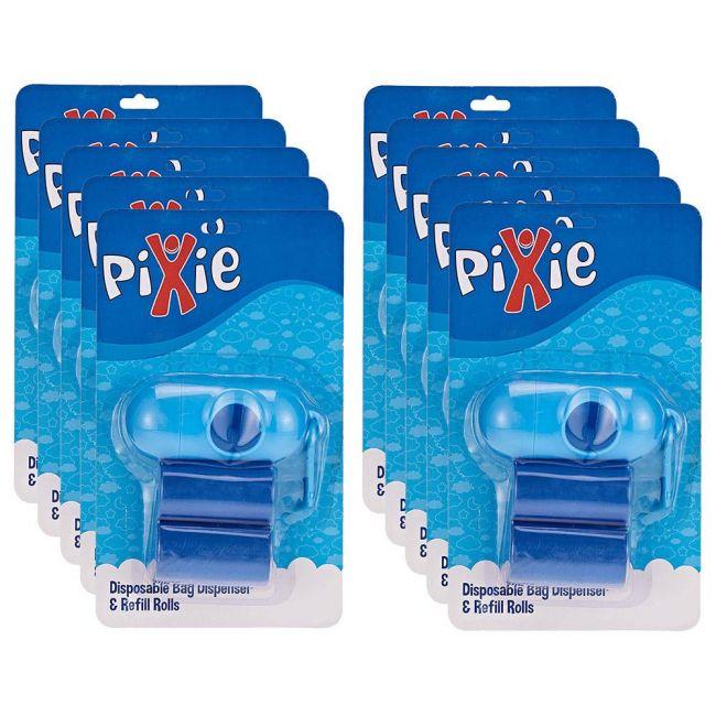Pixie - Dispenser Bag & Refill - Blue (Buy 8 Get 2 Free)