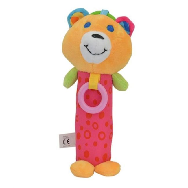 Pixie Baby Bear Rattle Toy