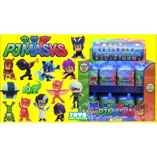 Pj Mask - Blind Figures With Capsule