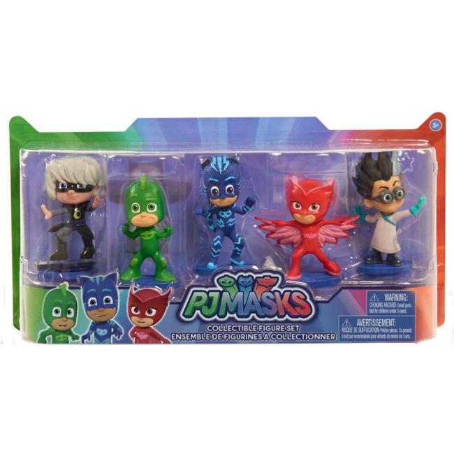 Pj Mask - Collectible Figures Set 5 Pk